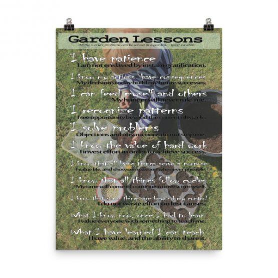 Garden Lessons Poster Thumbnail